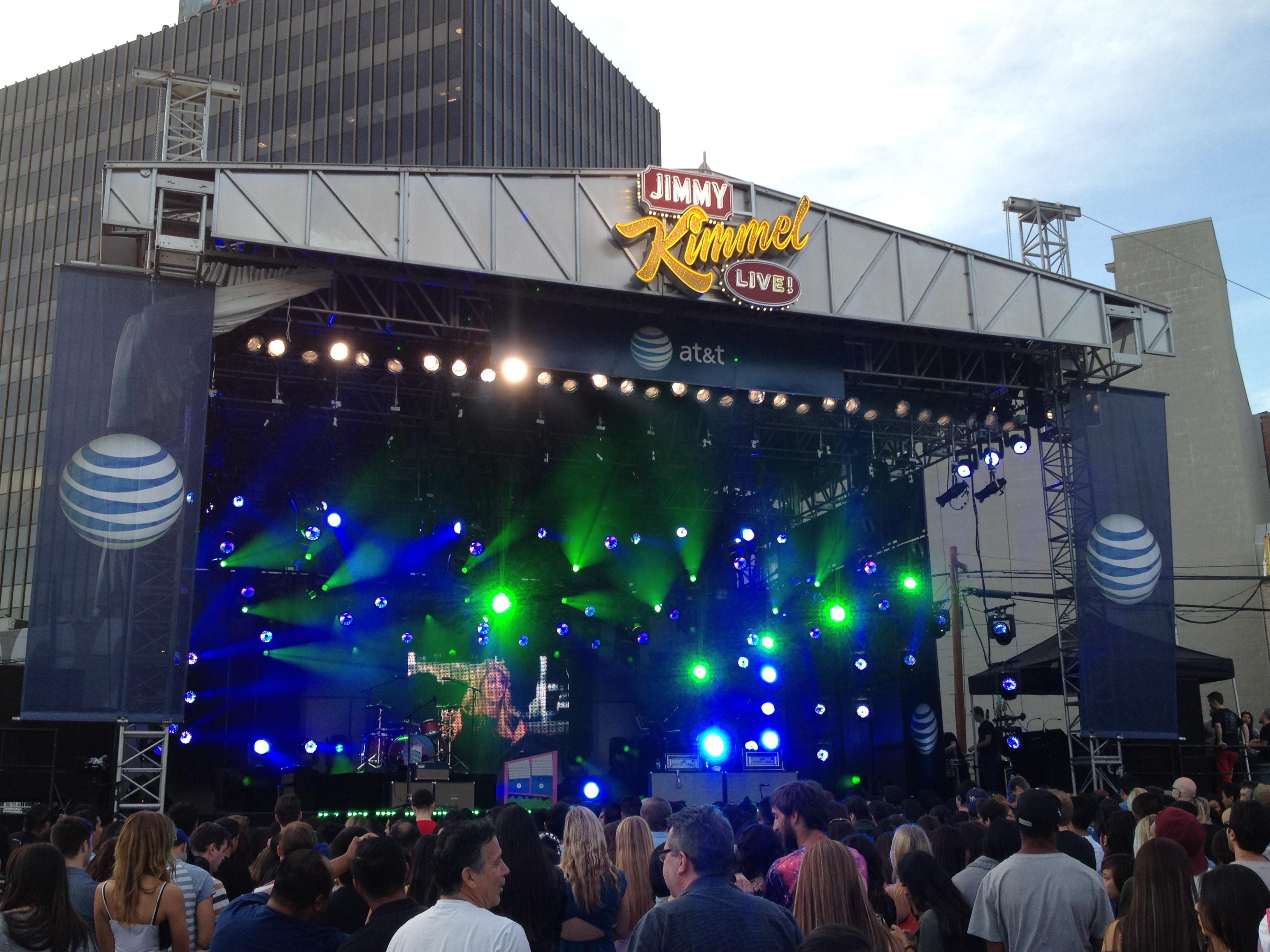 Jimmy Kimmel outdoor concert
